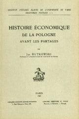Histoire économique de la Pologne avant les partages