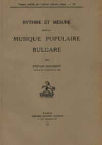 Rythmes et mesure dans la musique populaire bulgare