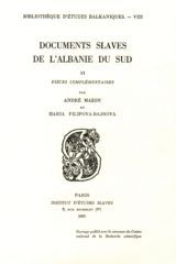 Documents slaves de l'Albanie du Sud