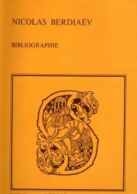 Bibliographie des œuvres de Nicolas Berdiaev