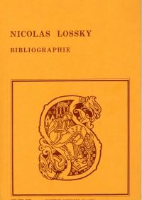 Bibliographie des œuvres de Nicolas Lossky