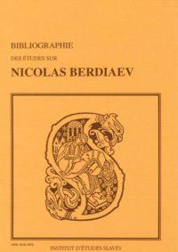 Bibliographie des études sur Nicolas Berdiaev