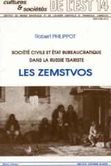 Société civile et État bureaucratique dans la Russie tsariste
