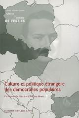 Culture et politique étrangère des démocraties populaires