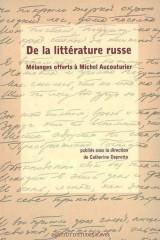 De la littérature russe