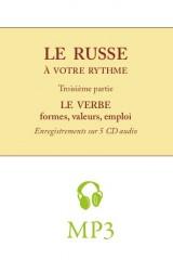 Le russe à votre rythme, cours pratique pour francophones – le verbe (MP3)
