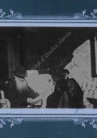 LNTI 1.01 L.N. Tolstoï et M.L. Obolenski à Yalta chez M.L. et N.L. Obolenski