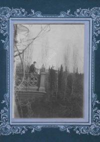LNTI 1.21 L.N. Tolstoï à Yalta chez son gendre N.L. Obolenski