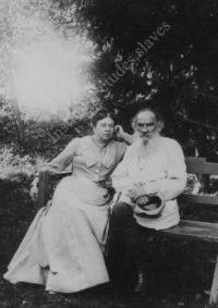 LNTI 1.28 L.N. Tolstoï et S.A. Tolstaïa, 28 août 1903, Iasnaïa Poliana