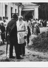 LNTI 2.17 Lev Nikolaevitch pendant sa visite à l'hôpital N.-D. de Toute-Protection