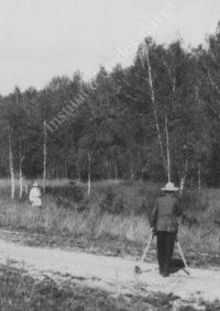 LNTI 2.53 L.N. Tolstoï sur le chemin de la gare de Krekchino