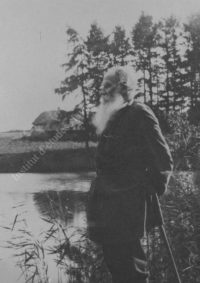 LNTI 3.02 L.N. Tolstoï au bord de l'étang