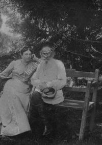 LNTI 3.06 L.N. Tolstoï et S.A. Tolstoï, photographiés le 28 août 1903