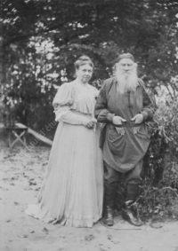 LNTI 3.07 L.N. Tolstoï et Sofia Tolstoï le jour de leur anniversaire de mariage