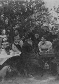 LNTI 3.16 L.N. Tolstoï jouant aux échecs avec Sergueï Taneïev