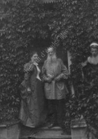 LNTI 3.36 Sofia Andreevna, Lev Nikolaevitch et Mikhaïl Lvovitch Tolstoï