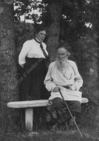 LNTI 3.44 L.N. Tolstoï avec sa fille Tatiana