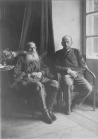 LNTI 4.40 L.N. Tolstoï et son fils Lev