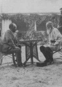 LNTI 4.48 Tolstoï et Soukhotine jouant aux échecs
