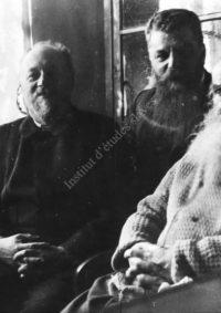 LNTI 5.23 Tolstoï avec M. Stakhovitch et M. Soukhotine, mon mari, pour «les clous du tapissier»