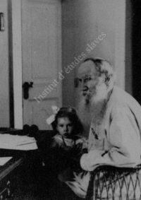 LNTI 5.29 L.N. Tolstoï avec sa petite-fille Tanetchka