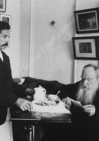 LNTI 5.36 L.N. Tolstoï et le domestique Sidorkov