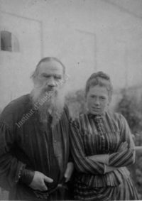LNTI 5.37 L.N. Tolstoï et sa fille Tatiana