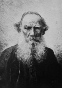 LNTI 6.18 Portrait de L.N. Tolstoï par Hans Weyl