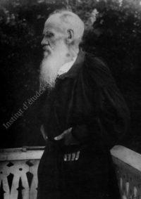 LNTI 6.20 Portrait de L.N. Tolstoï