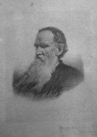 LNTI 6.27 Portrait de L.N. Tolstoï