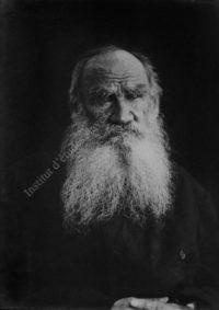 LNTI 6.40 Portrait de L.N. Tolstoï
