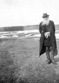 LNTI 7.18 L.N. Tolstoï au bord d'un lac