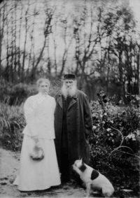 LNTI 7.22 S.A. et L.N. Tolstoï le jour de leur anniversaire de mariage