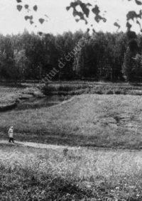 LNTI 8.05 L.N. Tolstoï en promenade le long de la rivière Voronka