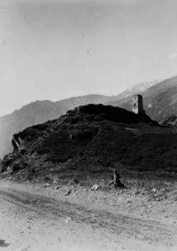 LNTI 8.15 Vue de la route de Laretch, route géorgienne militaire