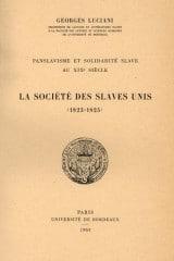Panslavisme et solidarité slave au XIXe siècle