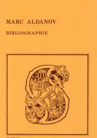 Bibliographie des œuvres de Marc Aldanov