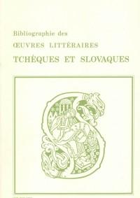Bibliographie des œuvres littéraires tchèques et slovaques traduites en français (jusqu'en 1980)