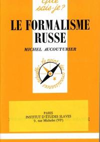 Le formalisme russe