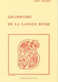 Grammaire de la langue russe