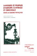 Langues et peuples d'Europe centrale et orientale dans la culture française