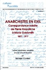 Anarchistes en exil [texte en russe]