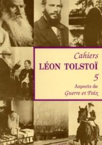 Cahier Léon Tolstoï n° 05
