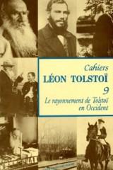 Cahier Léon Tolstoï n° 09
