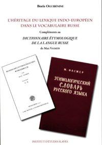 L'héritage du lexique indo-européen dans le vocabulaire russe