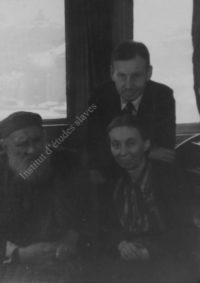 LNTI 1.23 L.N. Tolstoï à Yalta chez son gendre N.L. Obolenski