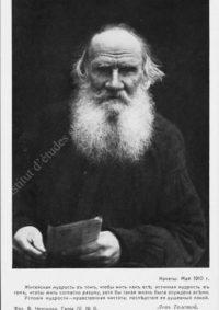 LNTI 2.22 Portrait de L.N. Tolstoï