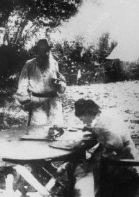 LNTI 3.41 L.N. Tolstoï et Sofia Andreevna à Iasnaïa Poliana