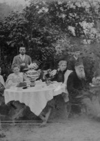 LNTI 3.43 L.N. Tolstoï jouant aux échecs avec Sergueï Taneïev