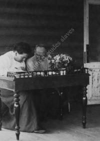 LNTI 3.45 L.N. Tolstoï avec sa fille Aleksandra